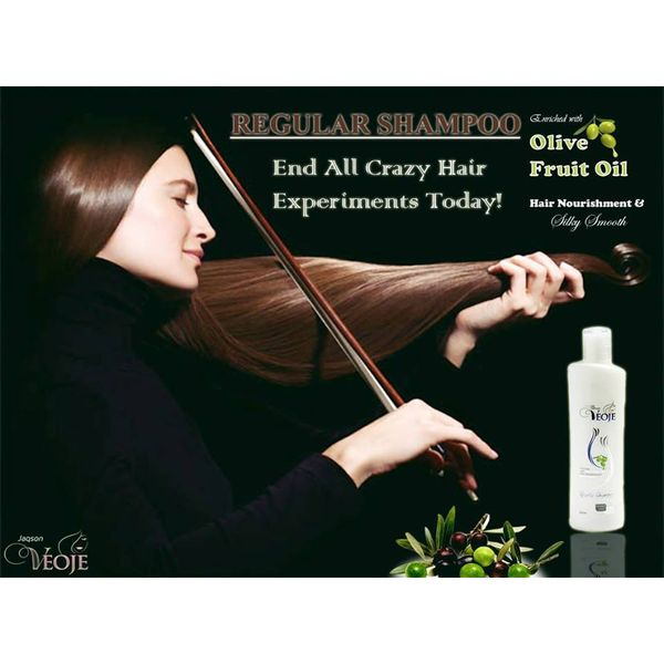 Daily Hair nourishment Shampoo with Olive oil