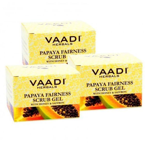 Papaya Fairness Scrub with Honey & Saffron