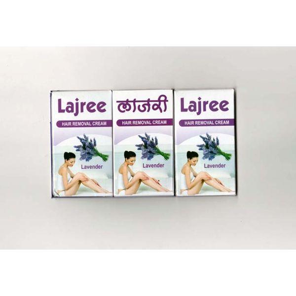 Lajree Hair removal Cream - Lavender with vitamin E