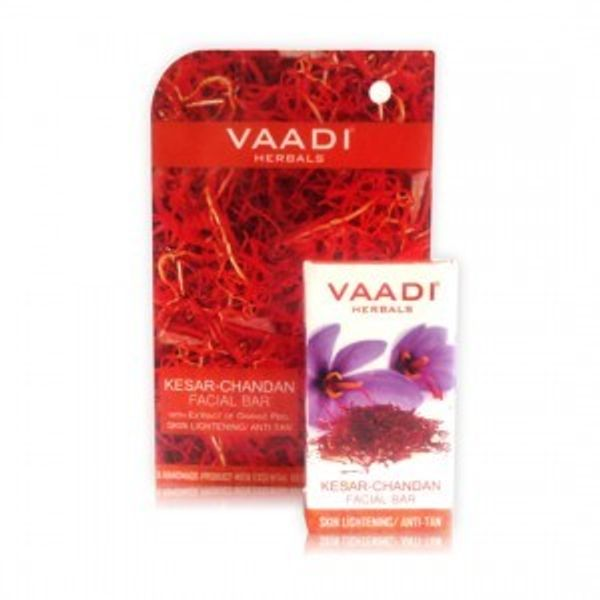 Kesar Chandan Facial Bar Skin Lightening / Anti-Tan ( set of 4 pcs )