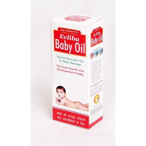 Ecliba Baby  Massage Oil set of 2