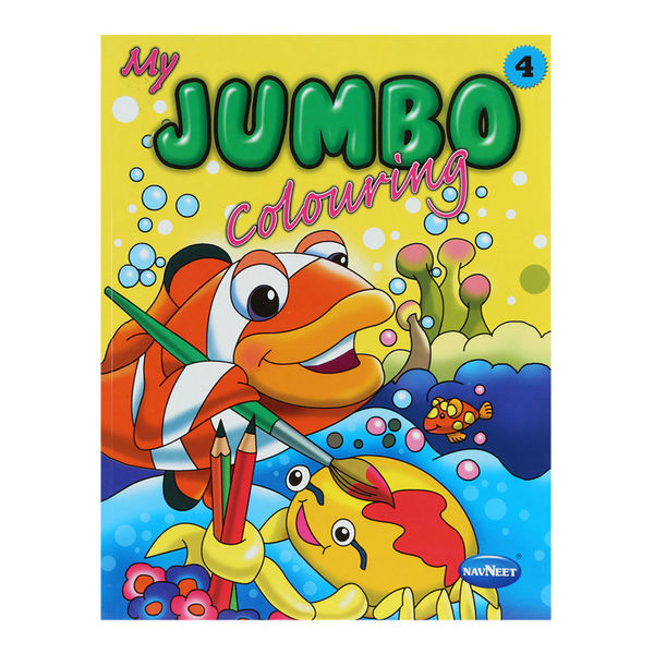 My Jumbo colouring book 4