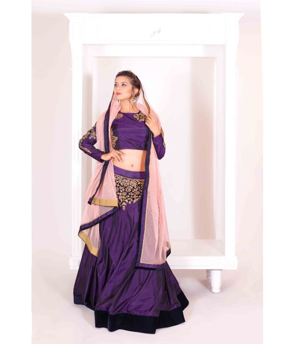 LEHENGA WITH BLOUSE