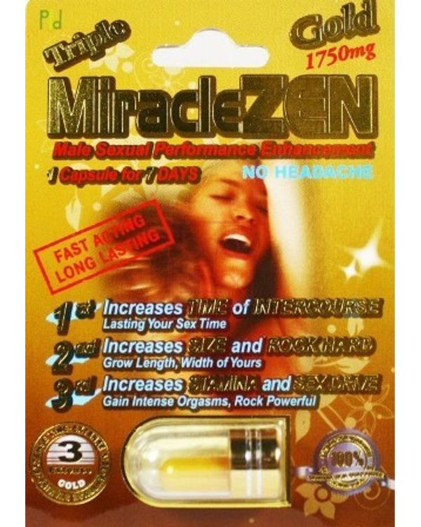 Triple MiracleZen 10 capsules imported