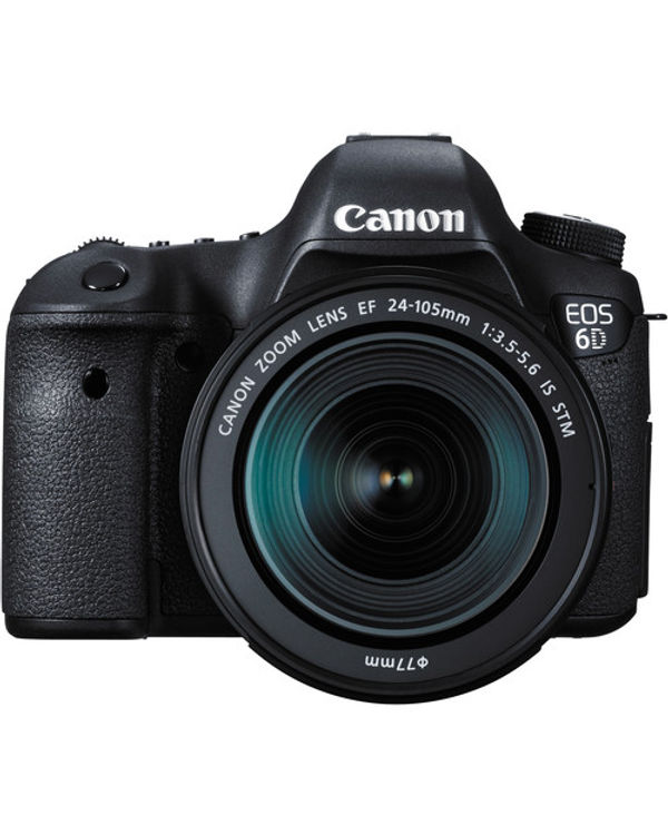 Canon EOS 6D Kit EF 24-105mm f/3.5-5.6 STM Lens