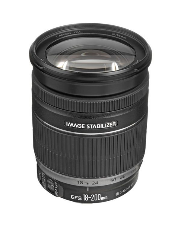Canon Zoom Lens EF-S18-200mm 3.5-5.6 IS