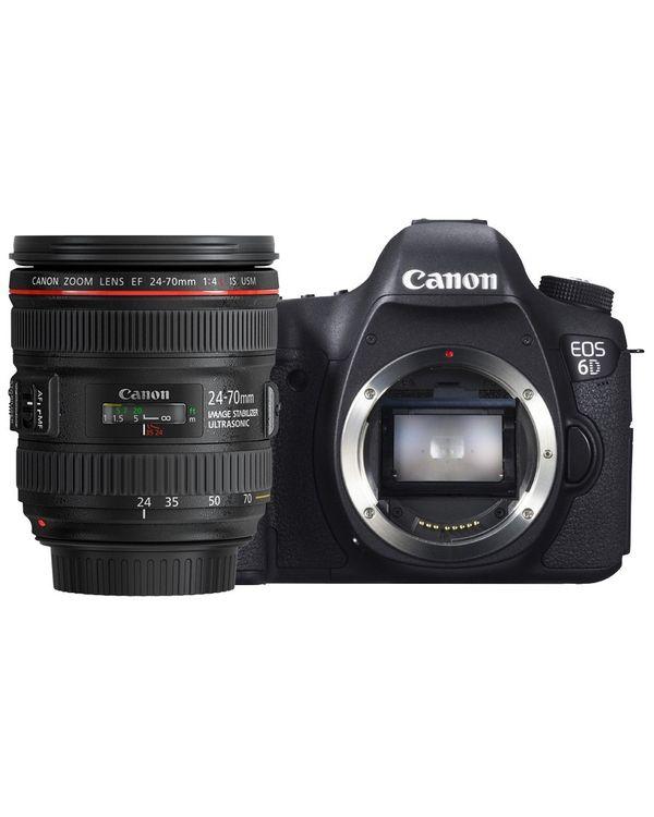 CANON EOS 6D kit II (EF 24-70 f4L IS USM)