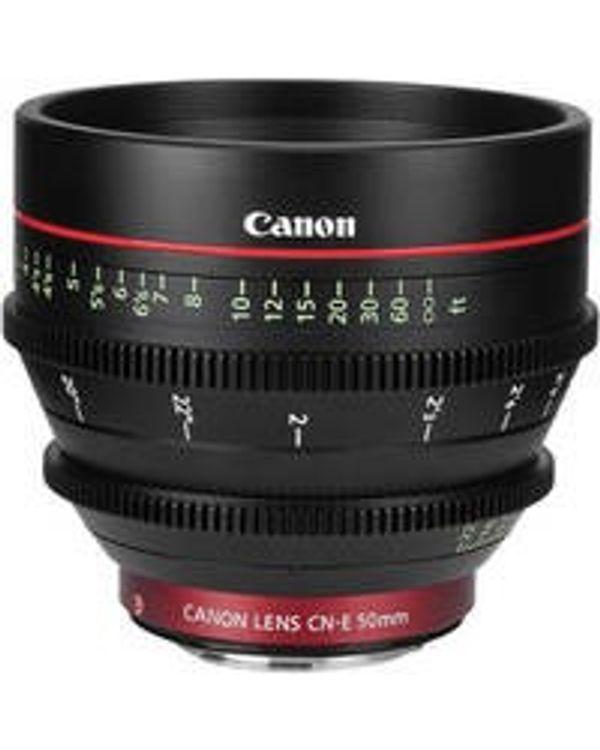 Canon Cine CN-E50mm T1.3 L F