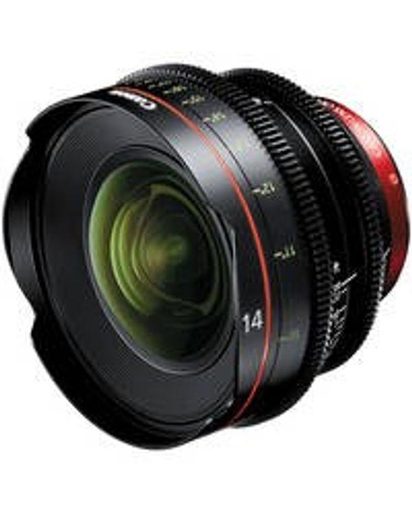 Canon Cine CN-E14mm T3.1 L F