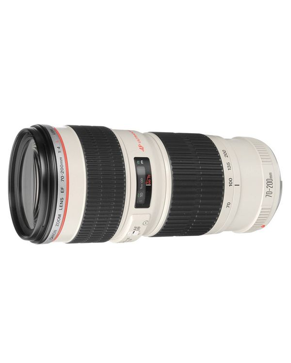 Canon Zoom Lens EF 70-200mm F4L IS USM