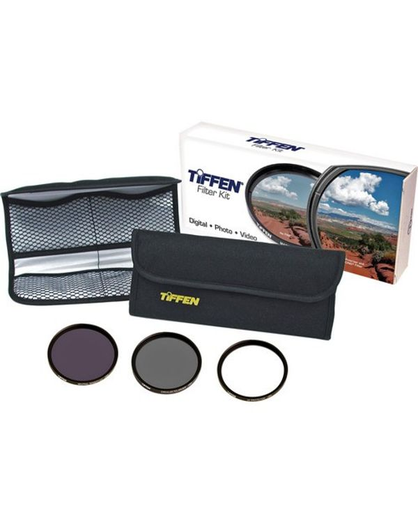 Tiffen 72mm Digital Essentials Filter Kit