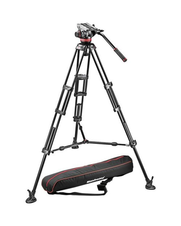 MANFROTTO VIDEO TRIPOD 546GB with MVH502A