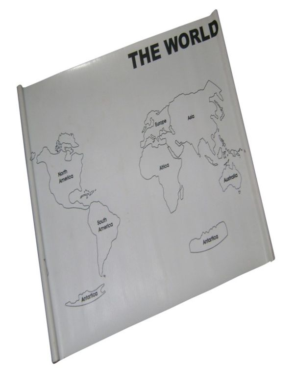 Control Map World Labelled