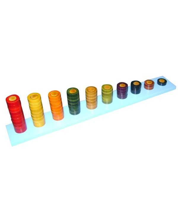 Counting Rings: Coloured 1-10