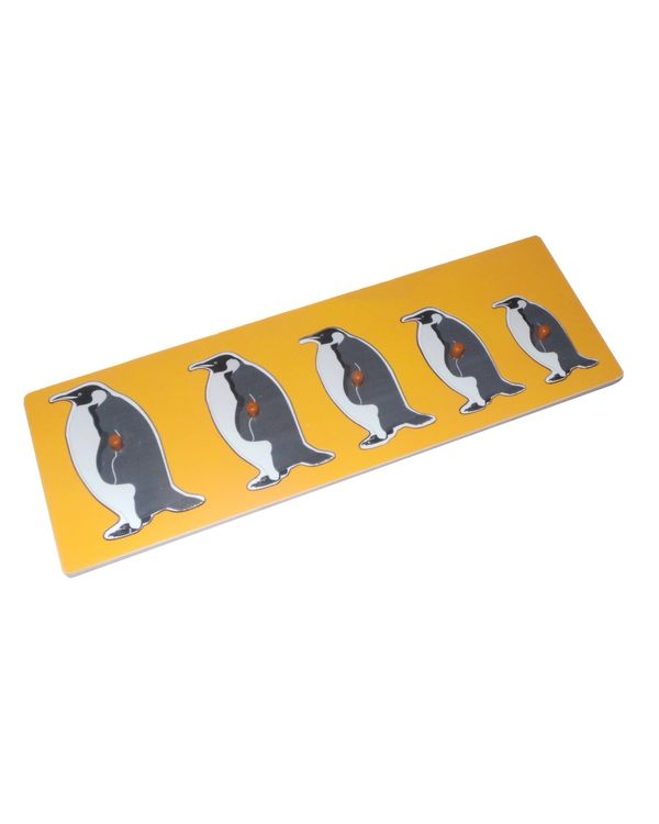 Size Variation Inset Board Penguin
