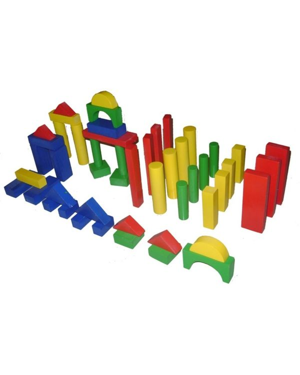 Building Blocks Small Set of 50 with tray