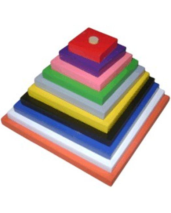 Pyramids: Square