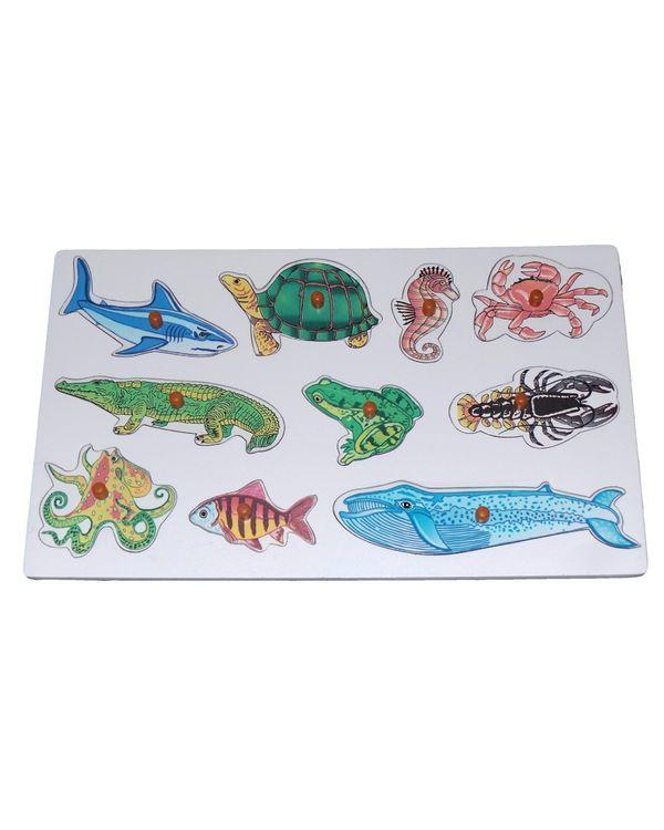 Name the Aqua Animals