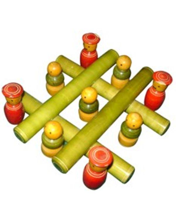 Tic Tac Toe: Wooden Play Set