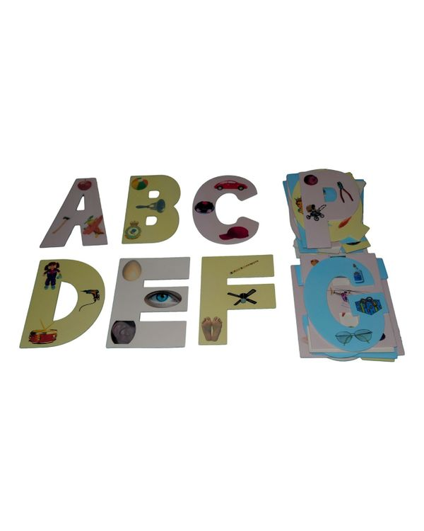 English Capital letters Classroom Cut Outs