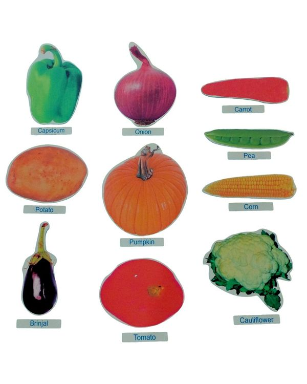 Vegetables Cut Outs Jumbo