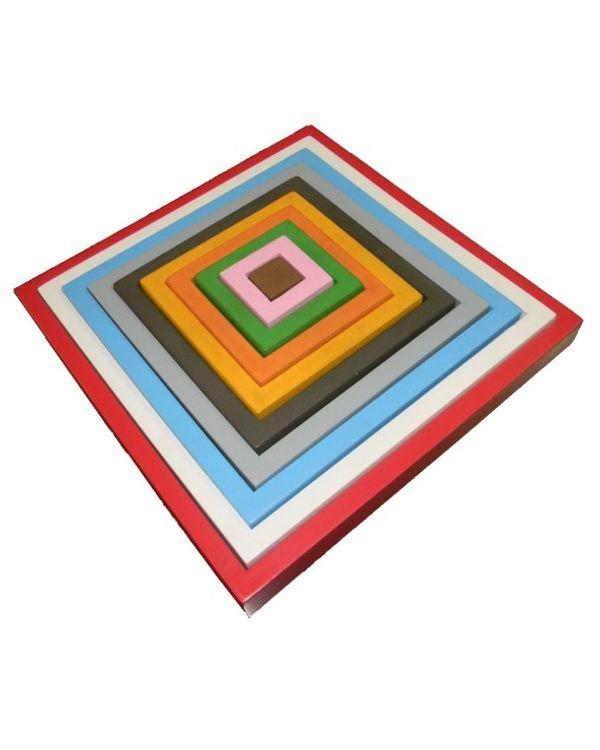 Concentric Square Tray Pyramid