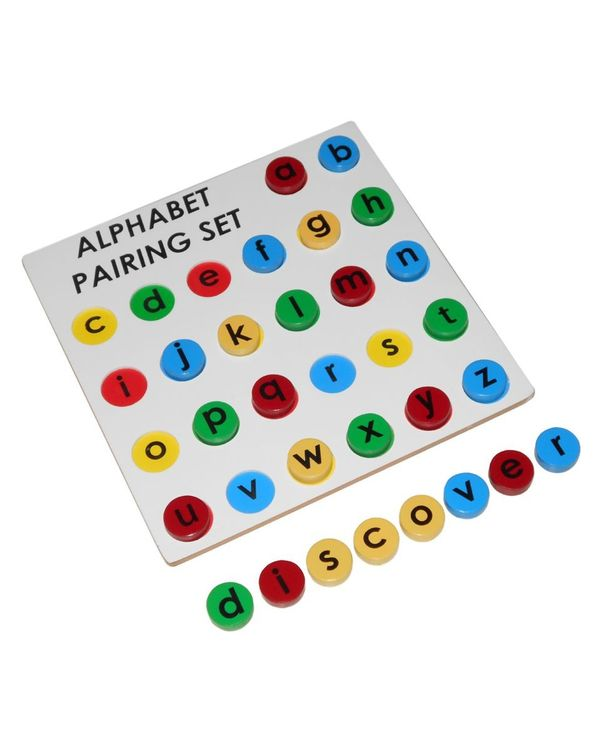 Alphabet Pairing Set: Small to Small