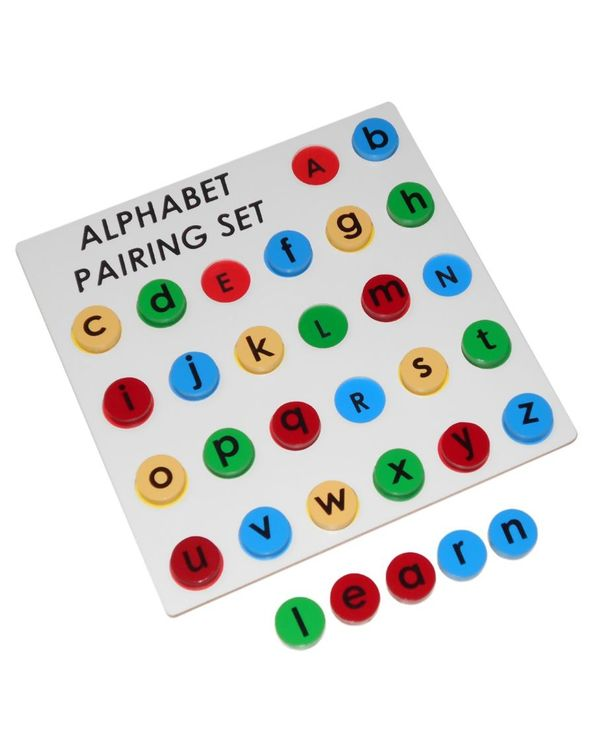 Alphabet Pairing Set: Capital to small