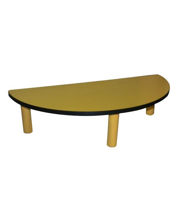 Semi Circle Desk Short (For 3-4 children)