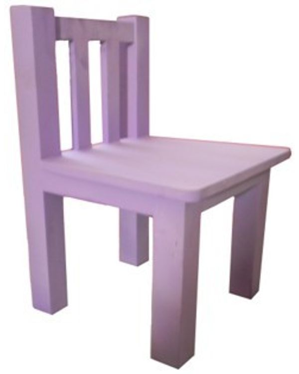 Painted Small Chair without arms
