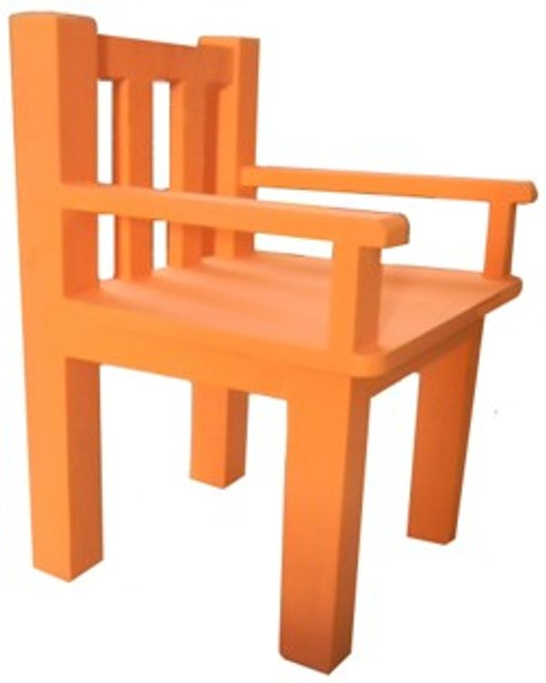 Painted Small Chair with arms