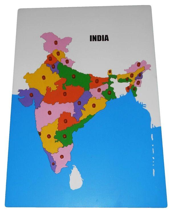 LC Map Puzzle: India
