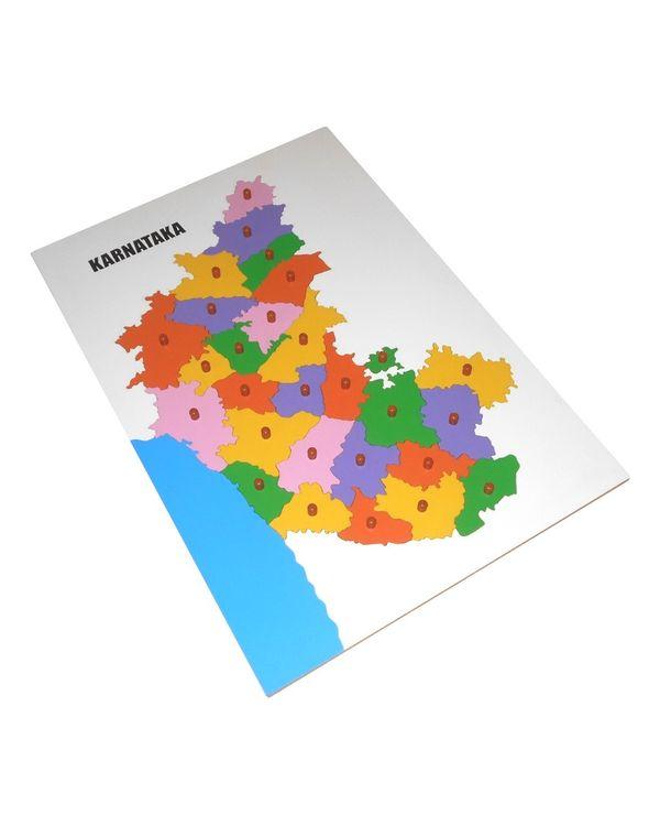 LC Map Puzzle: Karnataka