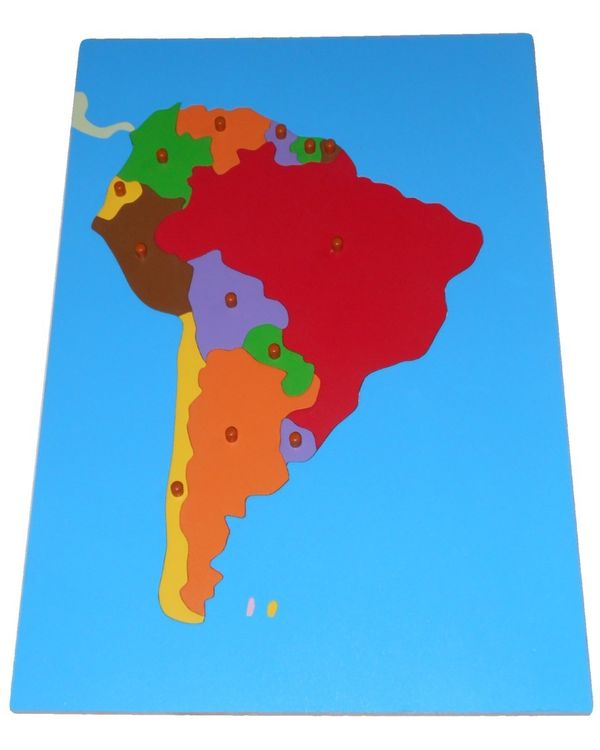 LC Map Puzzle: South America