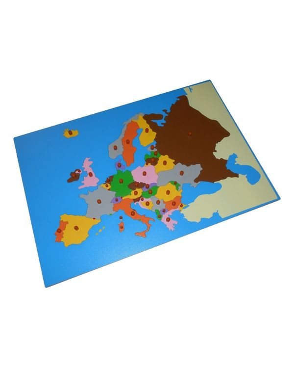 LC Map puzzle: Europe