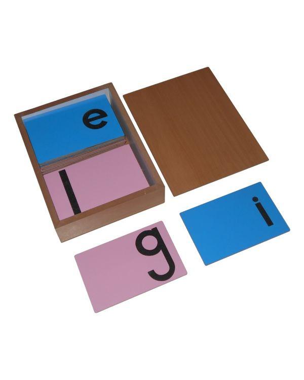 LC Sandpaper Letters Print