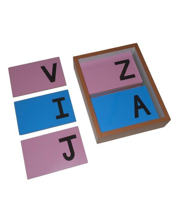LC Sandpaper Letters Capital