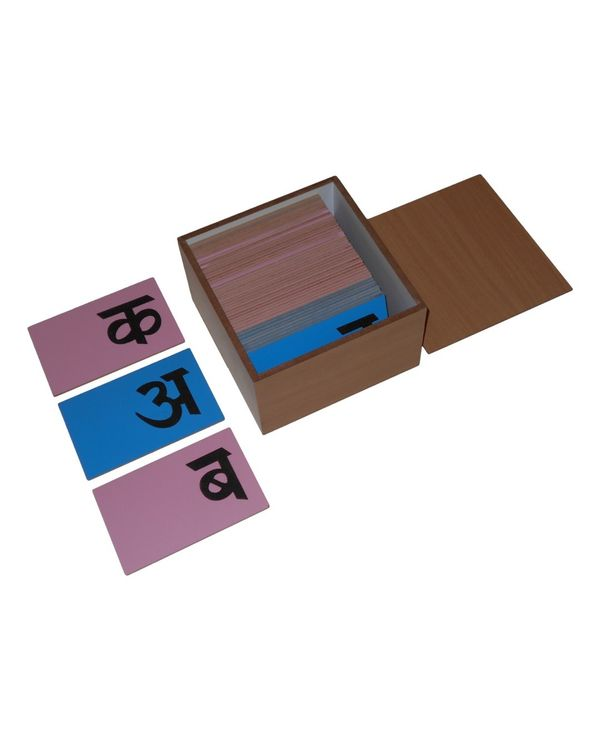 LC Sandpaper Letters Hindi