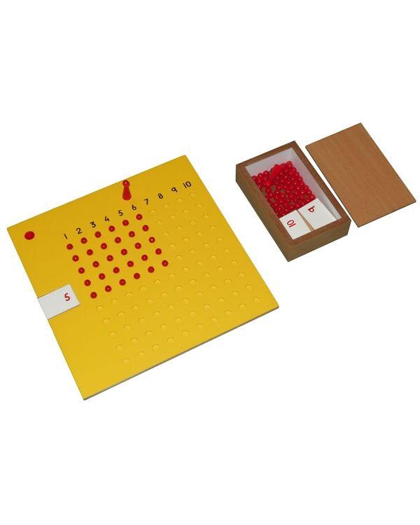 LC Multiplication Board inc bead box