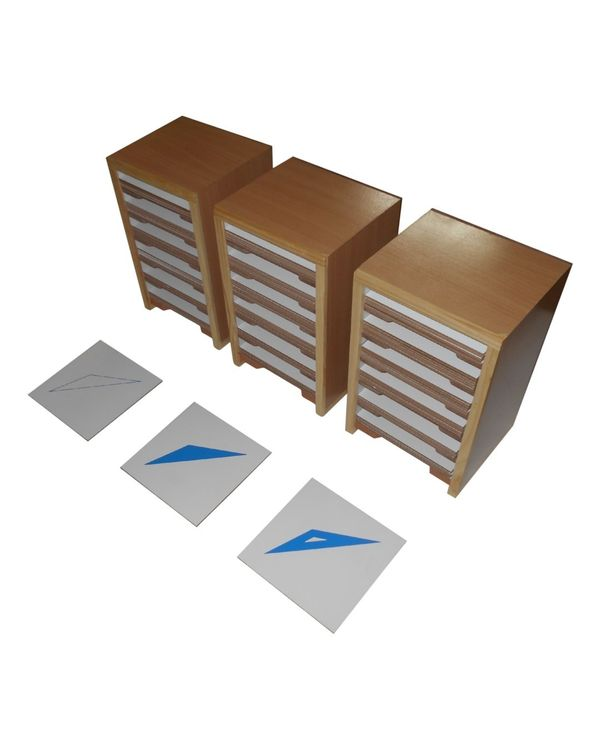 LC Geometrical Form Cards