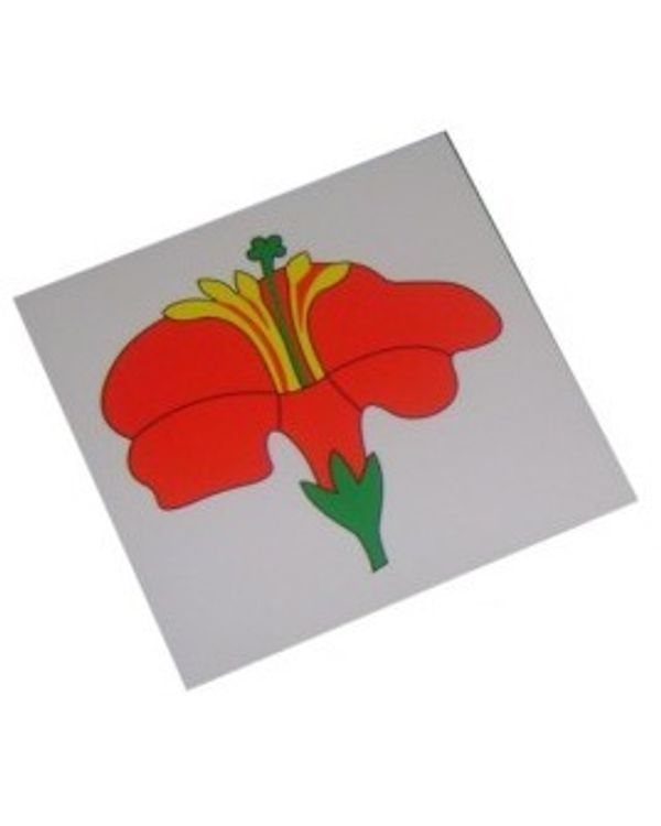 Control Card - Flower Puzzle