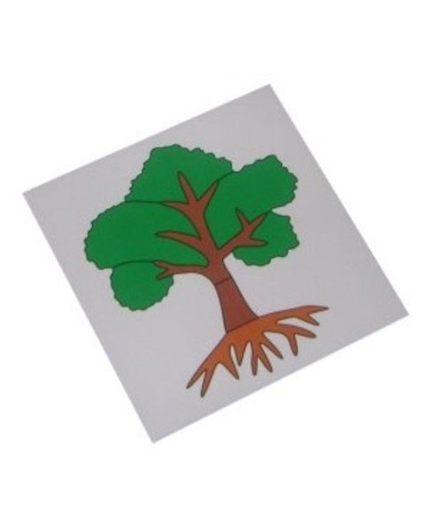 Control Card - Tree Puzzle