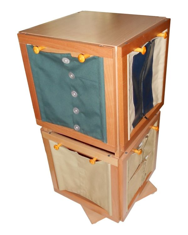 Revolving Stand: 8 Button Frames