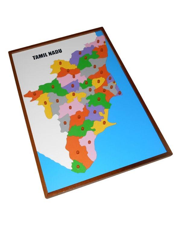 Map Puzzle: Tamil Nadu
