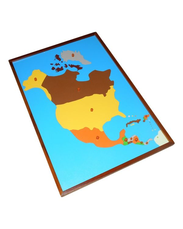Map Puzzle: North America