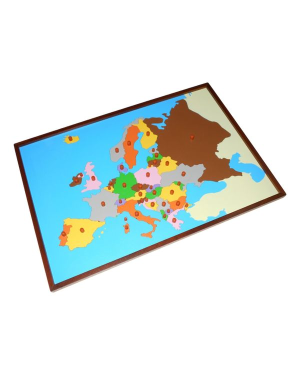 Map puzzle: Europe