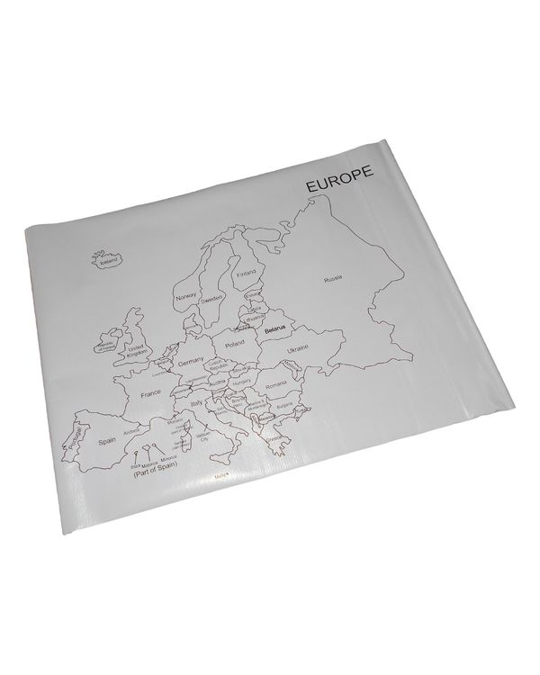 Control Map - Europe Labelled