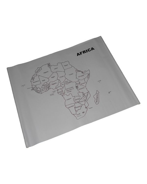 Control Map Africa Labelled