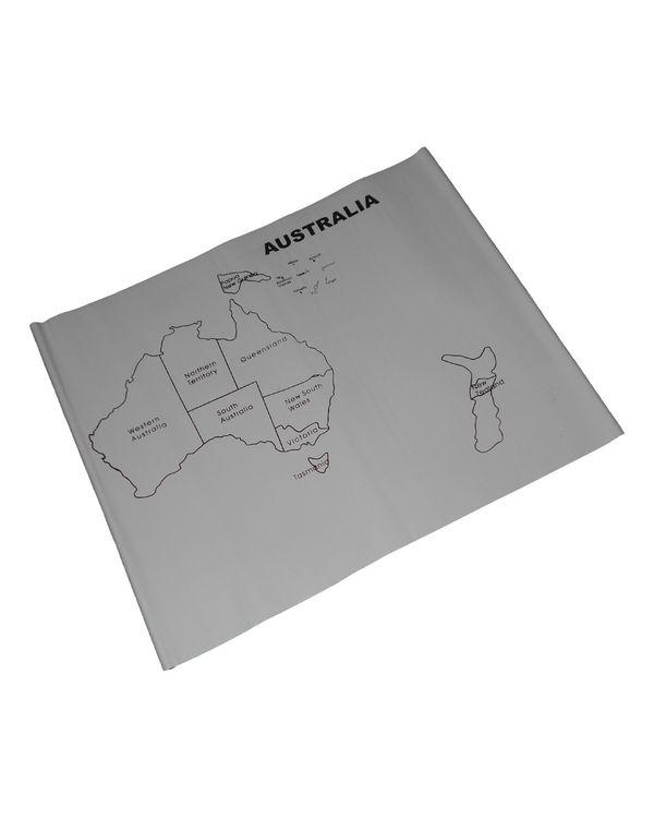 Control Map - Australia Labelled