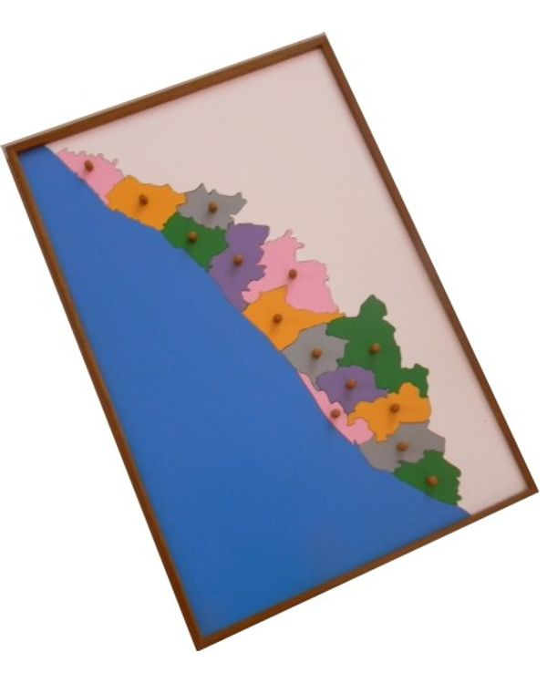 Map Puzzle: Kerala